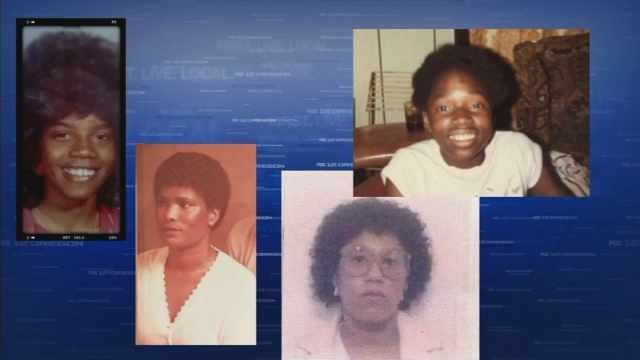 Victims of 1980s homicide cold cases