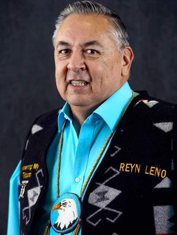 Reyn Leno, Tribal Council chairman, The Confederated Tribes of Grand Ronde (Photo: Michelle Alaimo, Smoke Signals photographer)