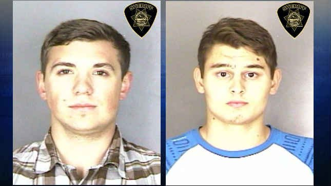 George Zaichenko and Pavel Arkhipenco (Photo: Salem Police Department)