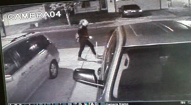 Surveillance photo of suspect