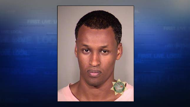 Mohamed Mohamud, 2014 jail booking photo