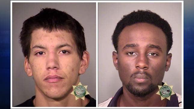 Timothy Beers, William Maingi, jail booking photos