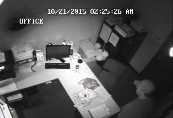 Beaverton Massage Envy surveillance photo of suspect