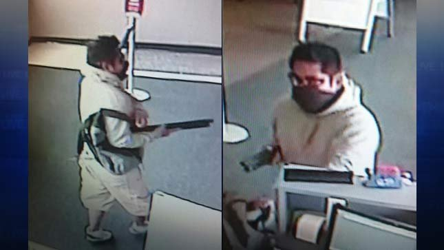 Dayton bank robber (Surveillance images released by Yamhill Co. Sheriff's Office)