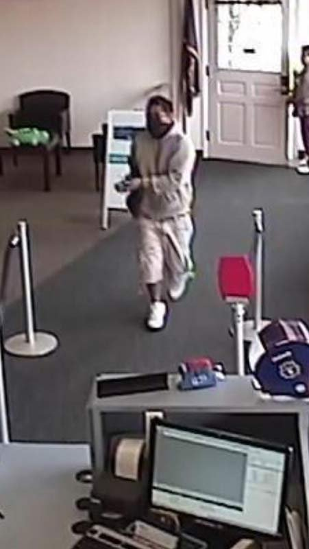 Dayton bank robber (Surveillance image released by Yamhill Co. Sheriff's Office)