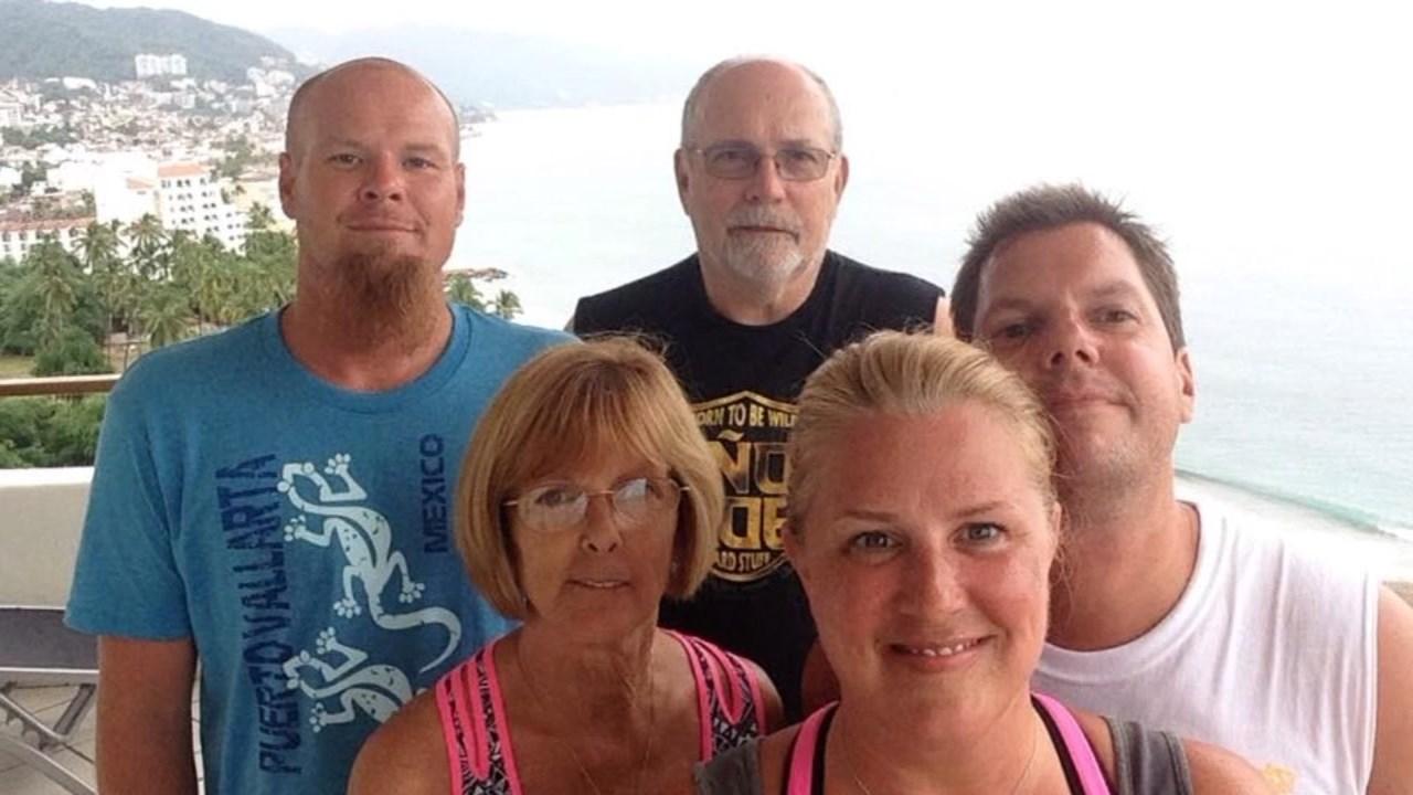 Bob Dixon and his family.