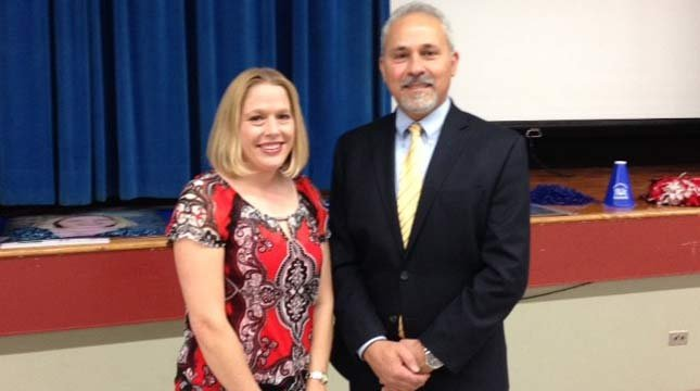 Heather Anderson, Oregon teacher of the year