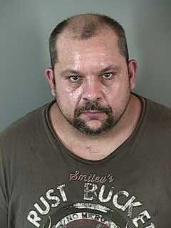 Larry Larsen, jail booking photo