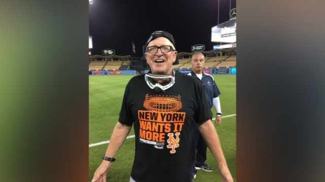 Mets pitching coach Dan Warthen