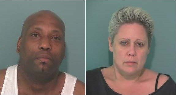 Booking photos for Ronnie Lee and Irish Boyce at the Polk County Jail in 2015.
