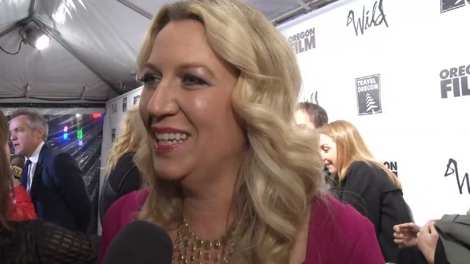 Cheryl Strayed at the Portland premiere of the film 'Wild,' based on her best-selling book