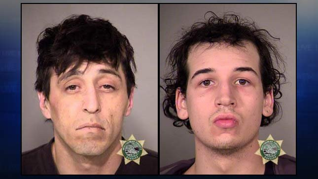 Samuel Garcia, Matthew Miller, jail booking photos