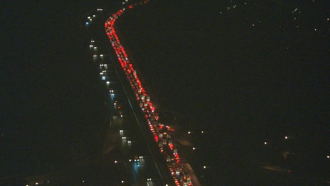 View of traffic from AIR 12