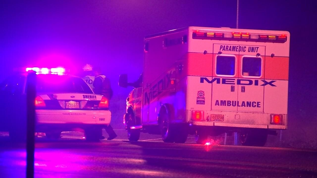 Deadly officer-involved shooting scene