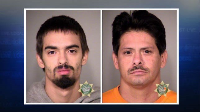 Mugshots: Miguel and Larry Venegas