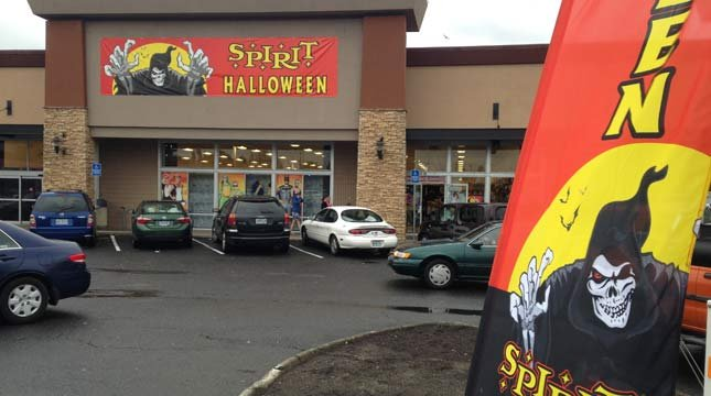 Spirit Halloween store in SE Portland (KPTV file image)