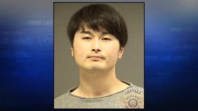 Edwin Moriya, jail booking photo