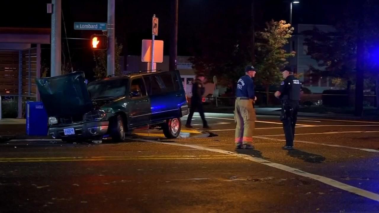 Deadly crash scene, early Sunday morning