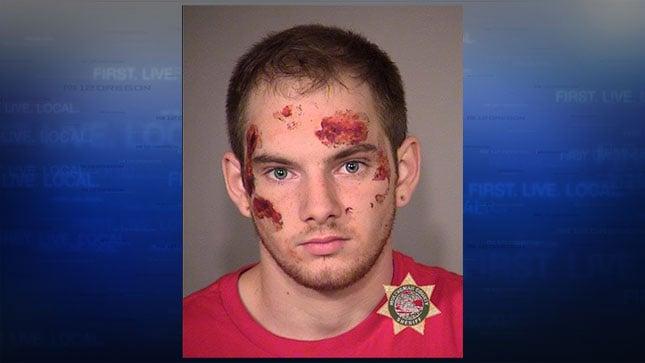 Matthew Freeman, jail booking photo