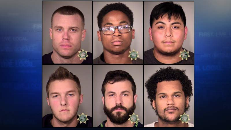 From top left: Jered Dinan, Justin Grant, Luis Limon-Guzman. From bottom left: Cameren Maynerd, Waylen McAllister, Justin Steward