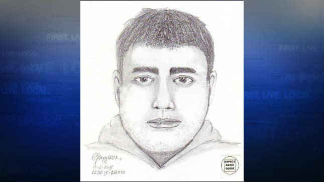 Sketch of first suspect (Photo: Clackamas Co. Sheriff's Office)