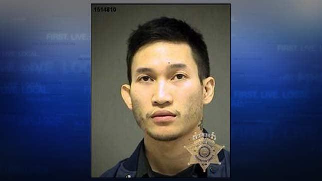 Nathan Khingratsaphone, jail booking photo