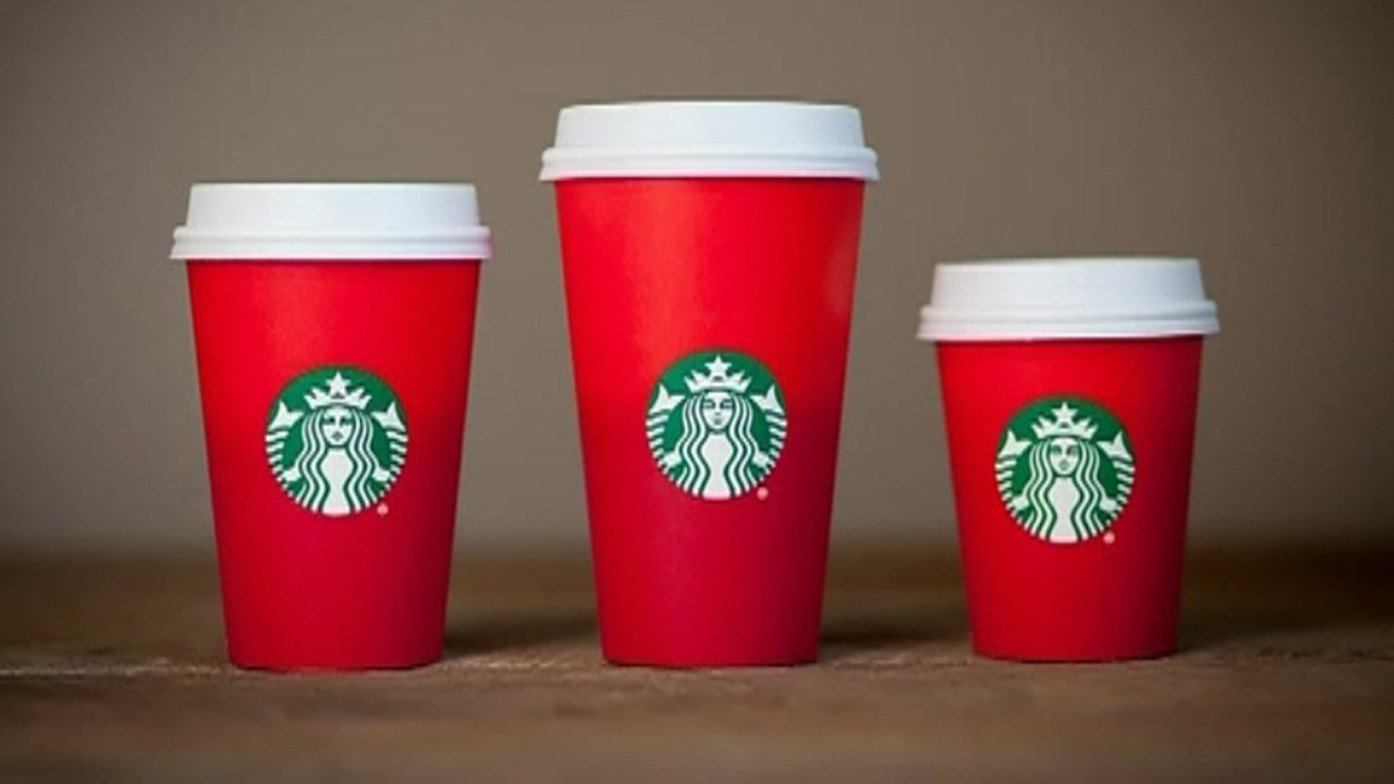 New Starbucks holiday cup designs