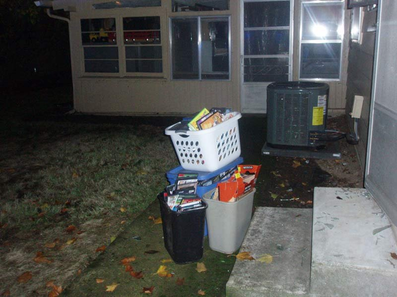 Evidence at scene of burglary investigation. (Photo: Clackamas County Sheriff's Office)