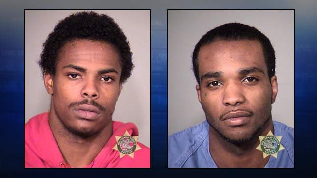 Corey Hill and Antonio Sanders Jr., 2013 jail booking photos