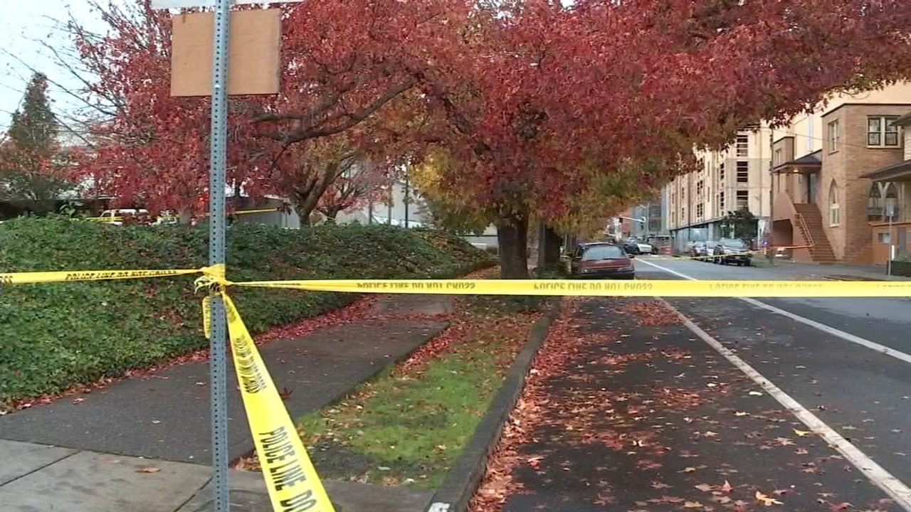 Deadly shooting scene near North Vancouver Avenue and Fargo Street