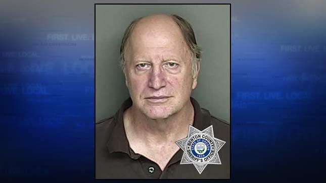John Kirk, jail booking photo