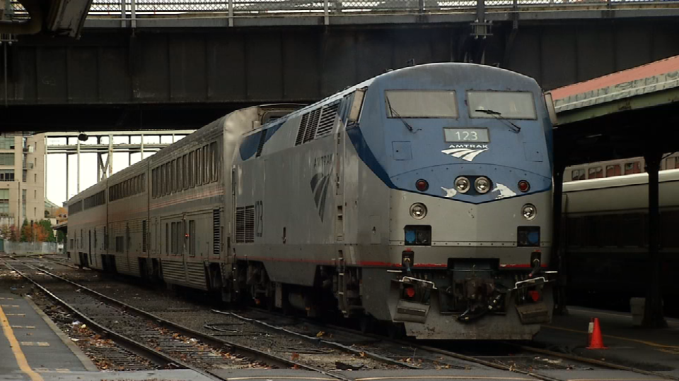 Amtrak train (file photo)