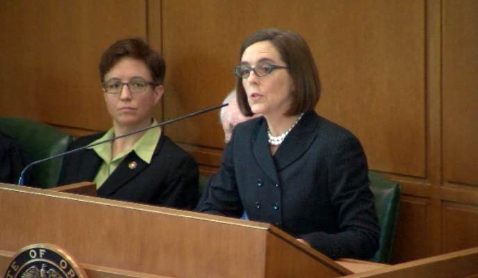 Oregon Gov. Kate Brown (File photo)