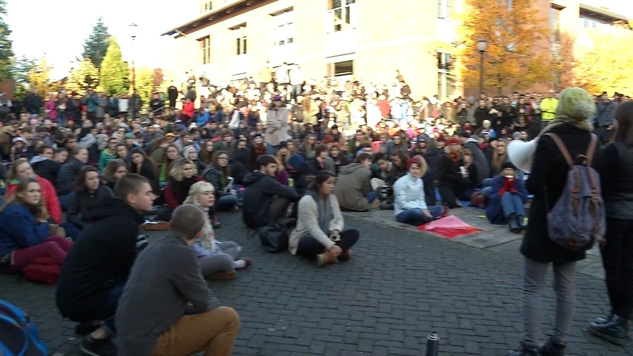 Protest Wednesday at Lewis & Clark College
