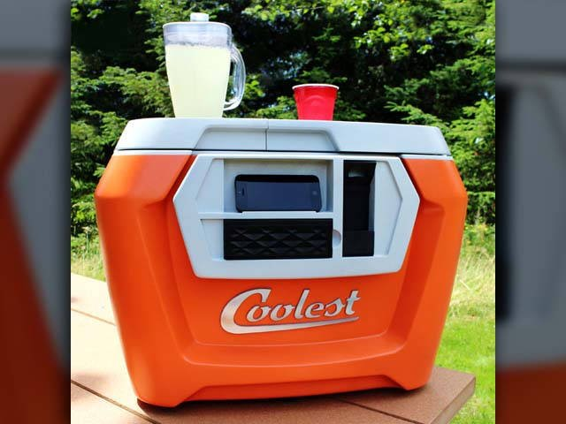 The 'Coolest Cooler' broke the all-time Kickstarter record but is now under investigation by the state. (Source: The Coolest Cooler/Kickstarter)