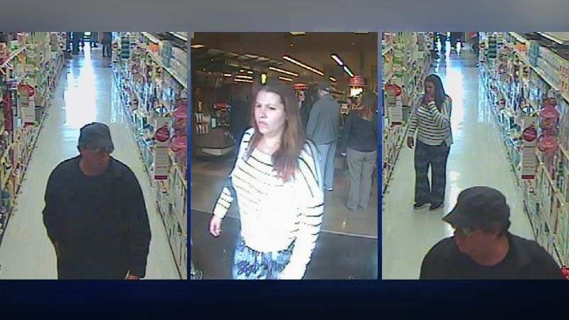 Surveillance images of Safeway pharmacy robbery suspects from Salem PD