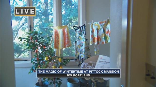 On the Go with Joe at the Pittock Mansion