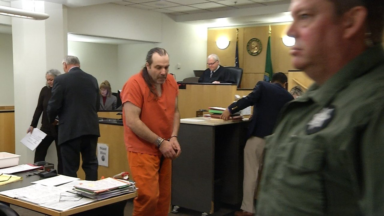 Troy Meyers in court Monday.