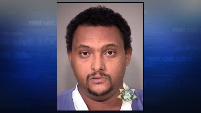 Biniam Yemane Tesfamariam, jail booking photo