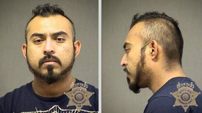 Jesus Rivera-Hernandez, jail booking photo