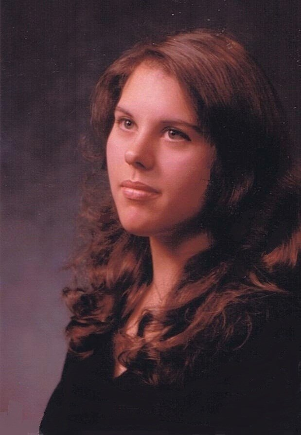 Rozina Rousett (later Anderson) in high school, courtesy of the Rousett family.