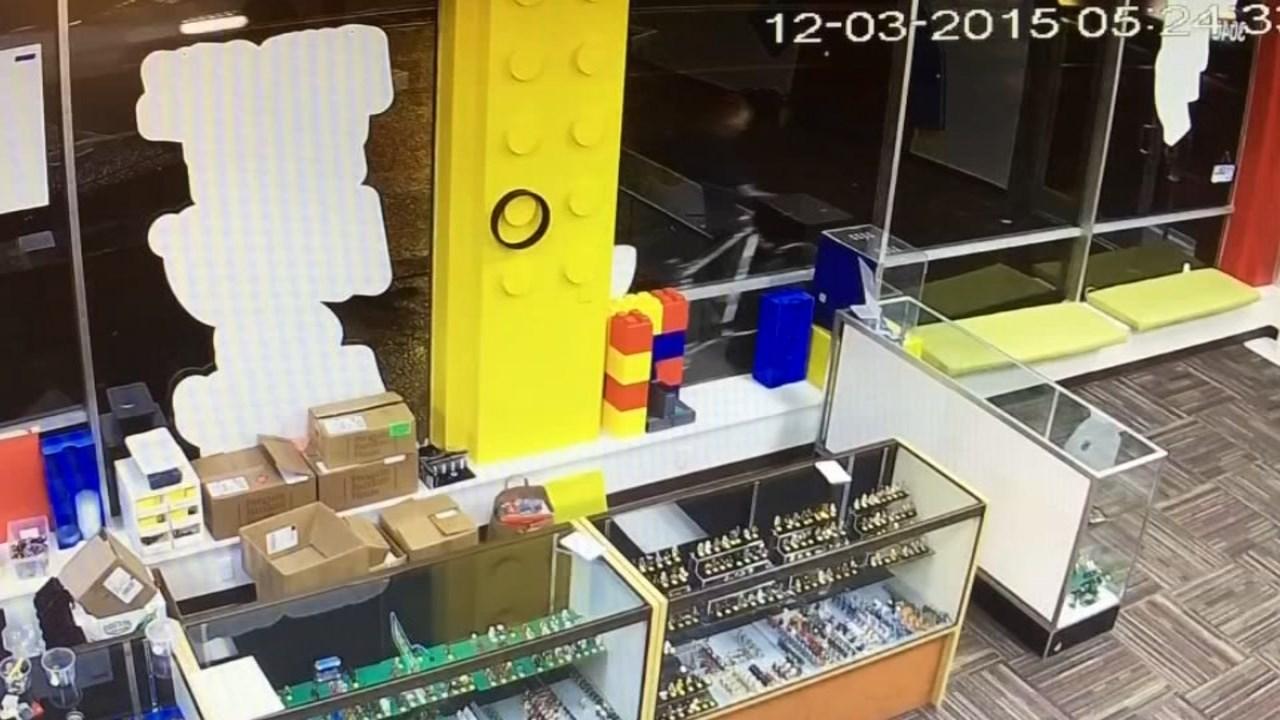 Suspect seen stealing the bike on surveillance.
