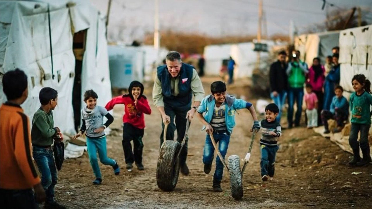 Jeff Pinneo, president and CEO of Medical Teams Internationl, visiting Syrian refugee camps in Greece and Lebanon