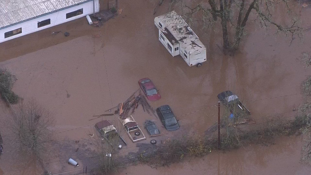 Photo of flooding from AIR 12