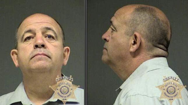 Joseph Burnham, jail booking photo