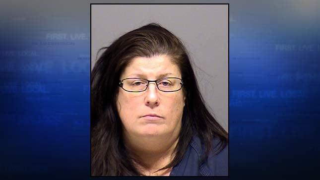 Mary Palmer-Correa, jail booking photo