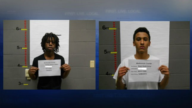 Mugshots: Sean Ivory and Ricky Gaters