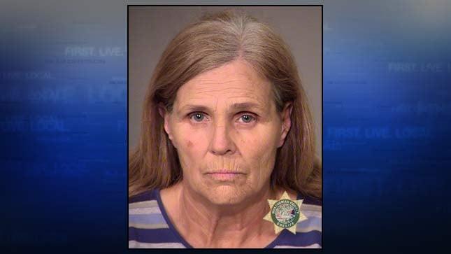 Kathleen Benting, jail booking photo