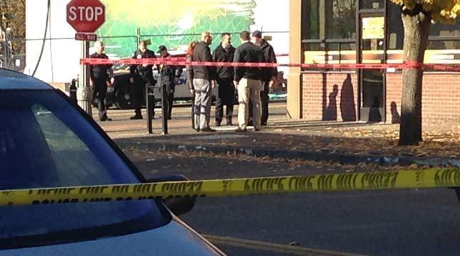Homicide crime scene, Nov. 25
