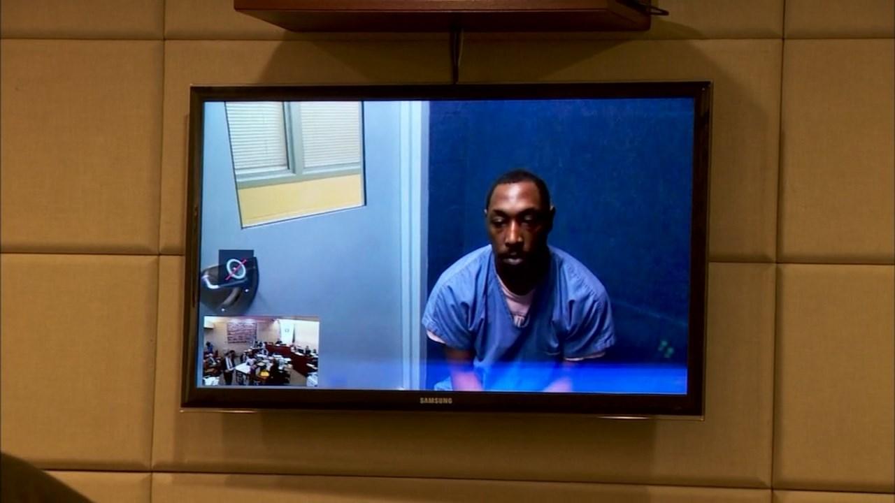 Kenneth Britt Smith Jr. during December 2015 court appearance. (KPTV)